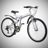 New 26″ Folding Mountain Bike Foldable Bicycle 6 SP Speed Shimano Reviews