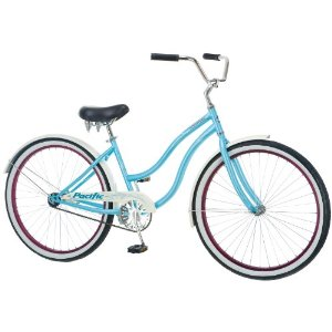 Pacific Cycle Women's Oceanside Bicycle (Light Blue)