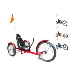 Triton Pro Ultimate Three Wheeled Cruiser